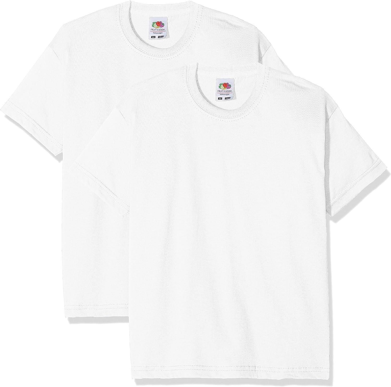 Pacco da 2 Bambino Fruit of the Loom T-Shirt