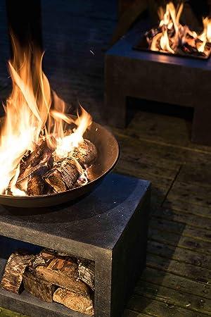 Ivyline Feuerschale Rechteck Konsole 50 Cm Feuerschale Granit