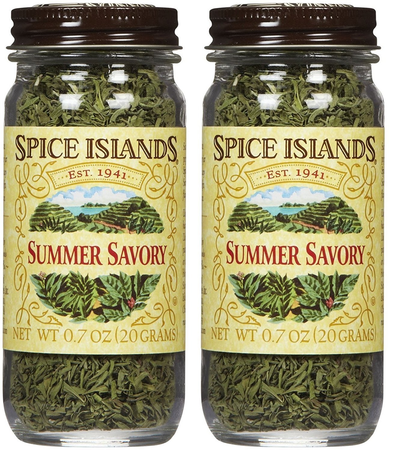 Spice Islands Summer Savory.7-Ounce (Pack of 2)