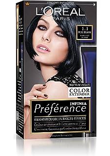 prfrence loral paris coloration permanente 11 noir glac intense - Coloration Permanente Noir