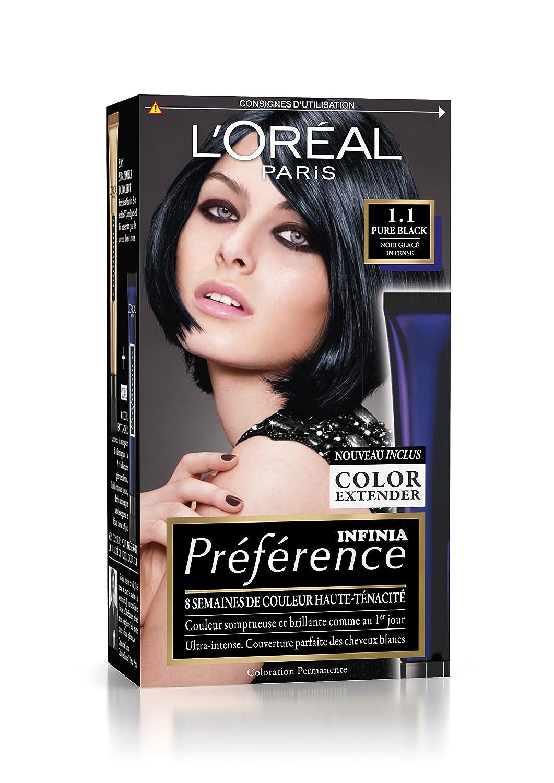 Coloration des cheveux l'oreal