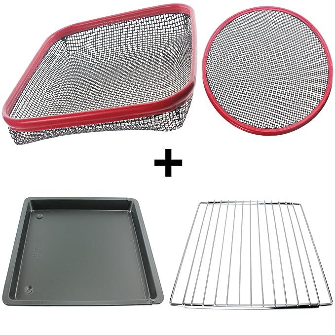 Spares2go Universal reutilizable silicona antiadherente bandeja de ...