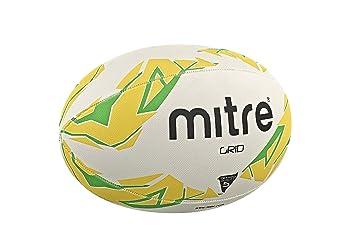 Mitre Grid - Balón de Entrenamiento de Rugby: Amazon.es: Deportes ...