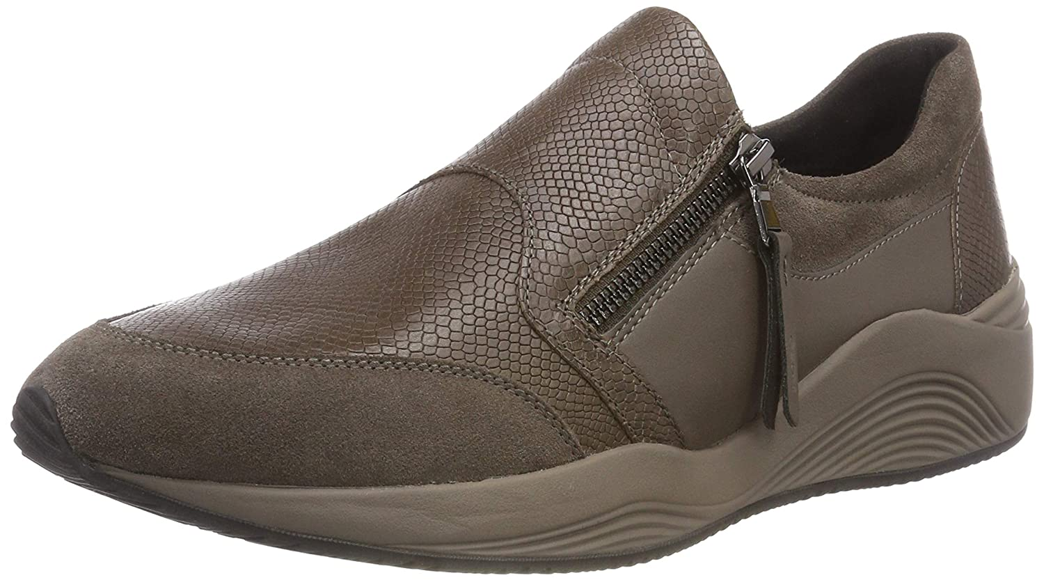 Geox Damen D Omaya A Slip On Turnschuhe
