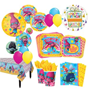 Amazoncom TROLLS Movie 6th Happy Birthday Party Balloons