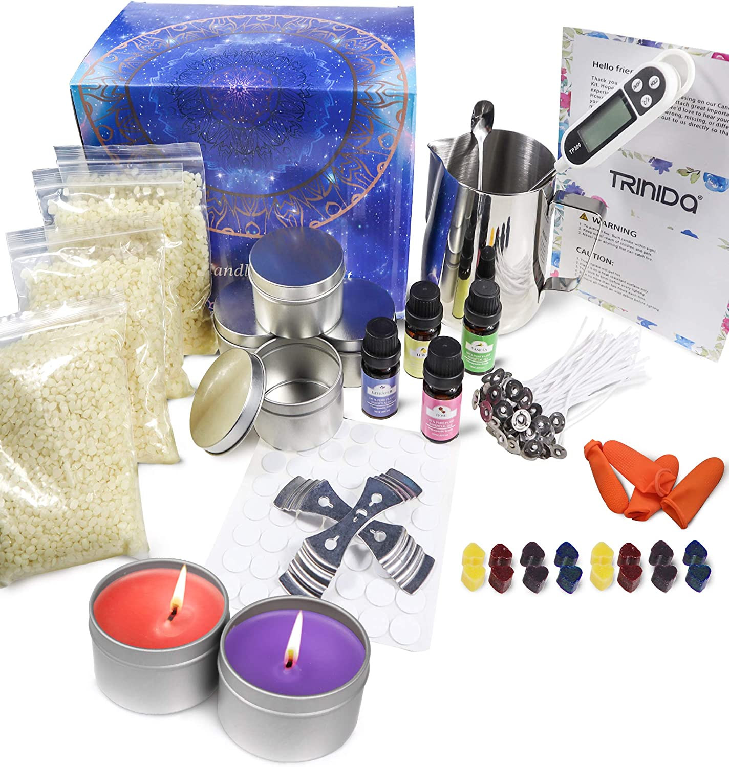 Check out 30 Best Candle Making Kits On Amazon at https://diyprojects.com/candle-making-kits/
