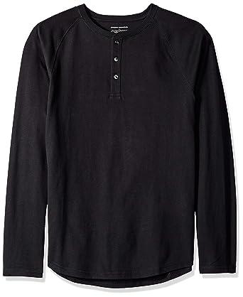 4cc4db46 Amazon Essentials Men's Slim-Fit Long-Sleeve Henley T-Shirt: Amazon ...