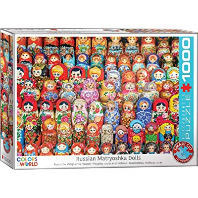 EuroGraphics 5420 Russian Matryoshka Dolls Puzzle (1000 Piece): Toys & Games