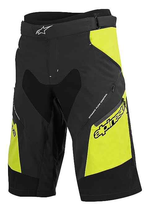Mtb 2017 Alpinestars Drop Corti Acid Pantaloni 2 Giallo Nero 32 CqafH5w
