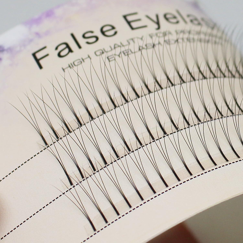 Scala 0.1 C Curl 120pcs 8-16mm to Choose Individual Lashes Black False Eyelash Natural Long Cluster Extension Makeup Beauty Health Makeup Fake Eyelashes (11mm) Bodermincer
