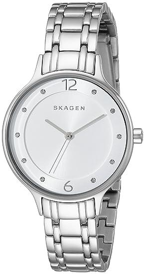 Skagen skw2320 Anita – Enlace de Acero Inoxidable de la Mujer Reloj