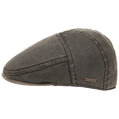 2f5ce5e7655 Paradise Herringbone Flat Cap Stetson ivy hat flat hat (XXL 62-63 ...