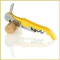 Naruba Premium 3-in-1 Kellnermesser mit Doppelhebel | Korkenzieher | Flaschenöffner | Kapselschneider | Weinmesser | Kellnerbesteck | Sommeliermesser | in div. Farben