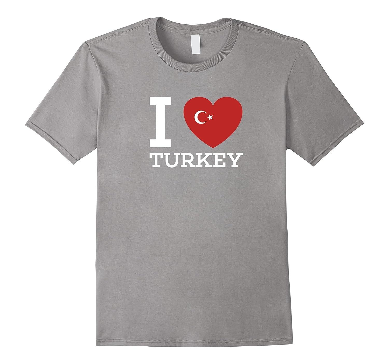 I Love Turkey Flag Heart special T Shirt for Turkey Lovers-Vaci