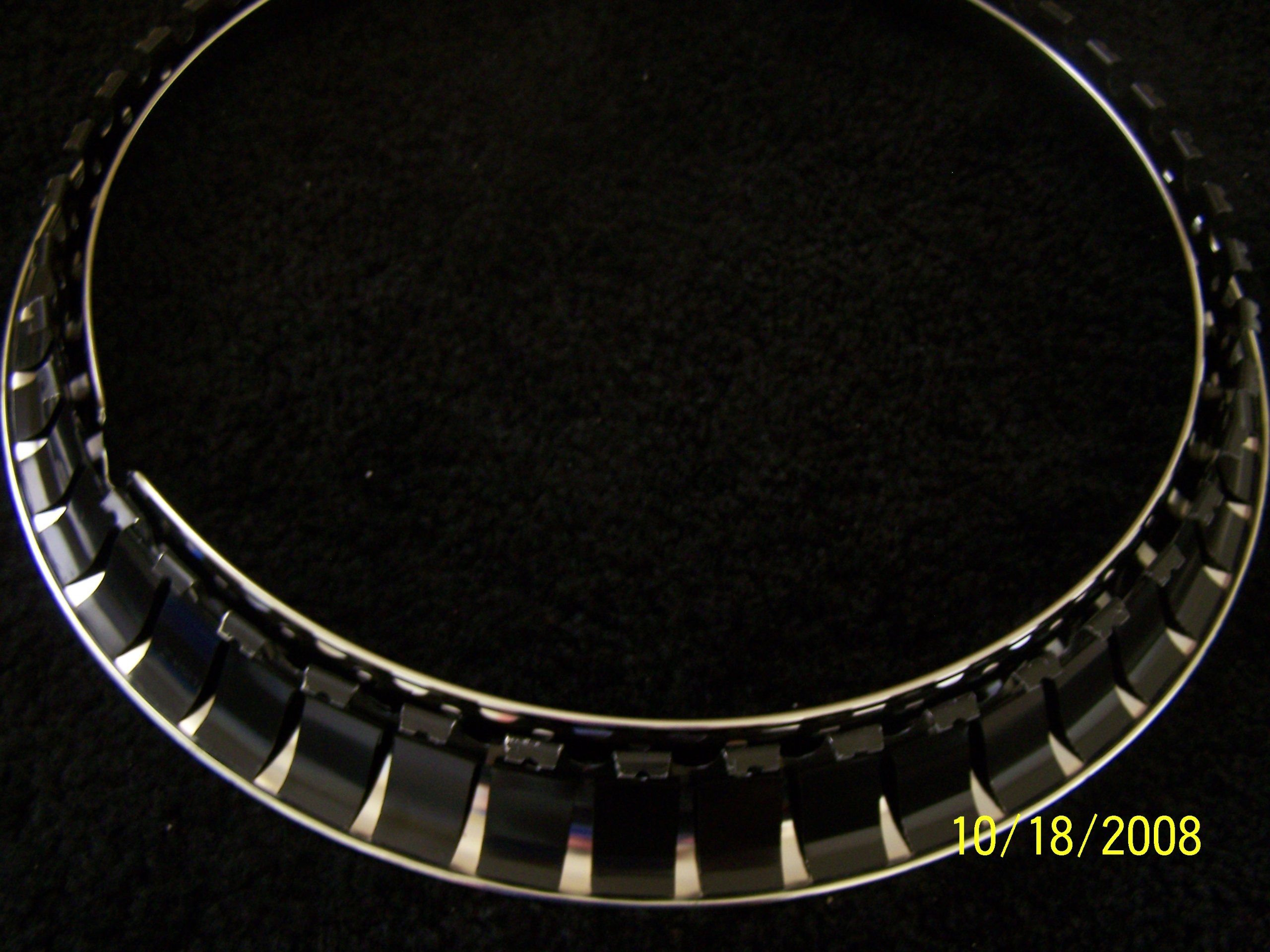 15 Inch Chrome Plated Stainless Steel Universal Trim Rings by Eagle Flight