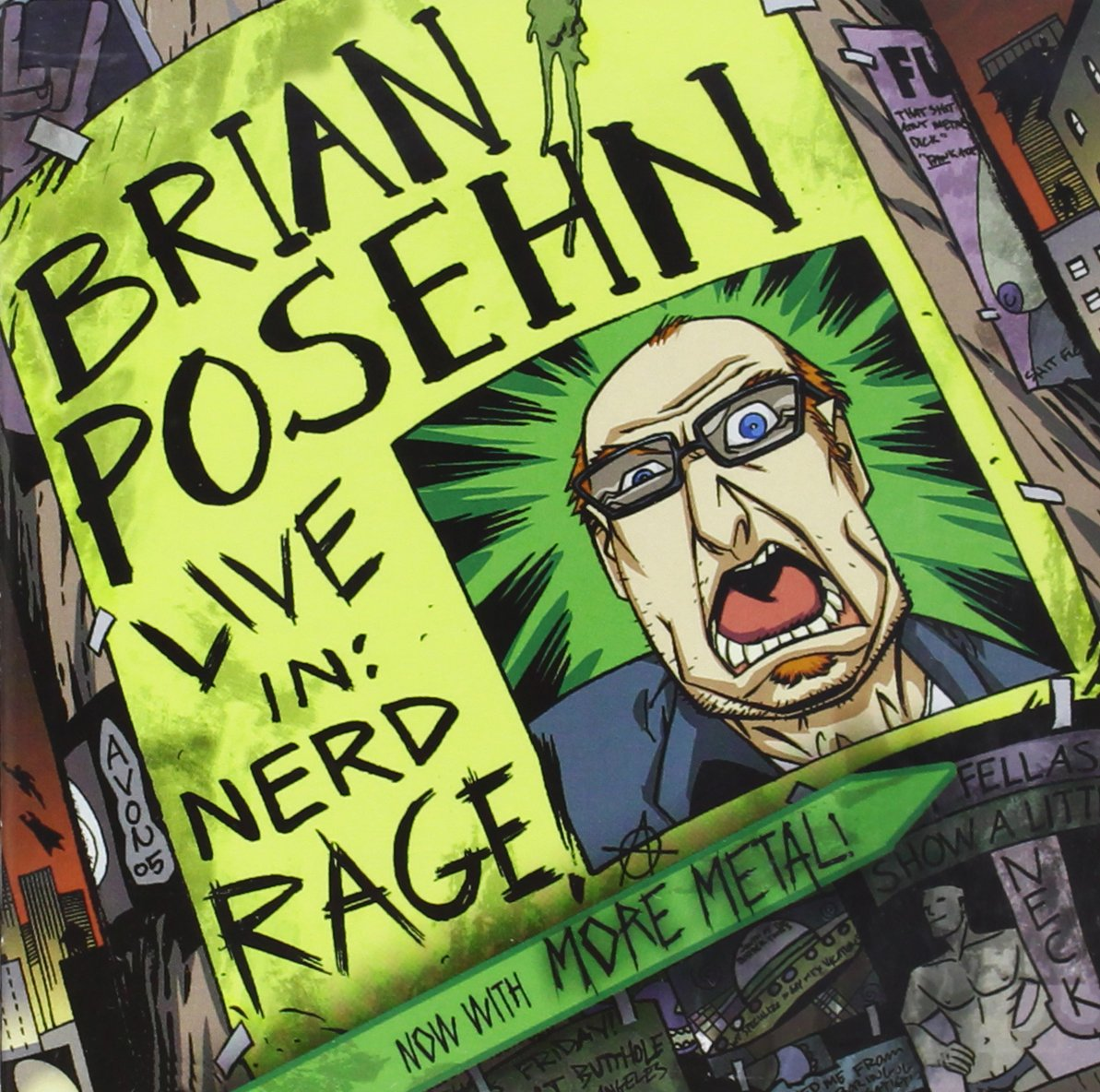 Live In: Nerd Rage by Posehn, Brian