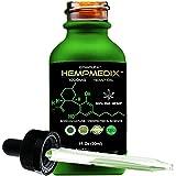 HempMedix Hemp Oil-Cannabis Sativa Oil 1,000mg Pure High Potency Full Spectrum Therapeutic Grade