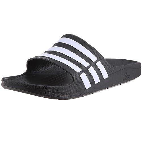 8089b03a4a1c9 adidas Duramo Slide, Unisex Open Toe Sandals: Amazon.co.uk: Shoes & Bags