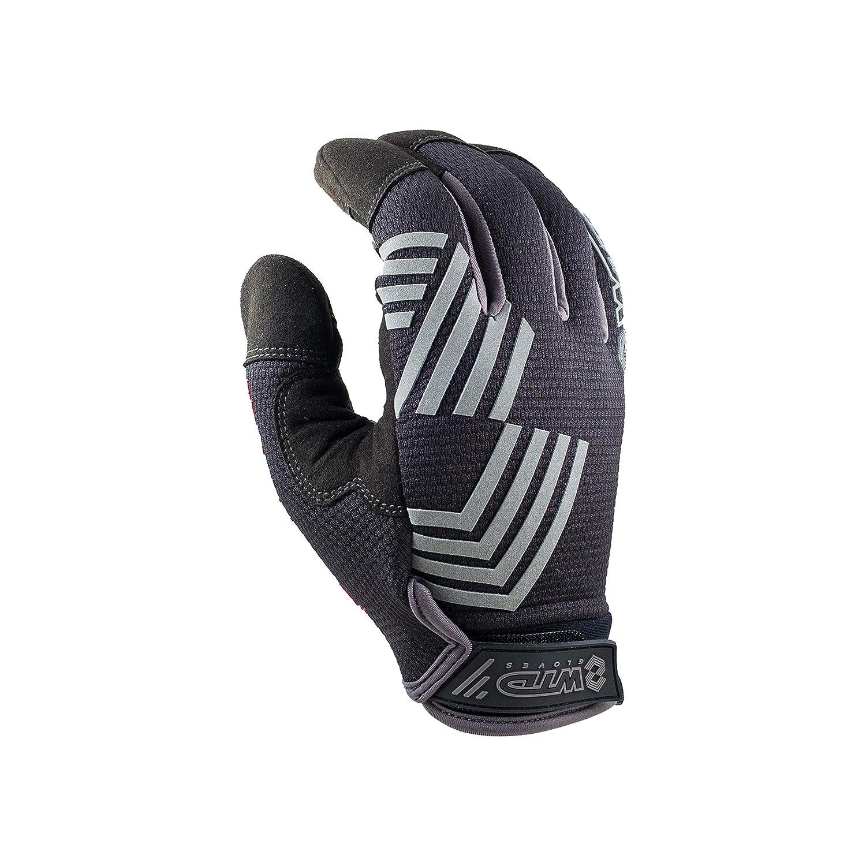 WTD Tokyo Drift Touchscreen Mechanics Glove/_Black on Black Large, Black
