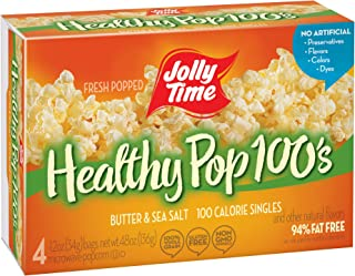 product image for Jolly Time 100 Calorie Healthy Pop Butter Microwave Pop Corn - 4 CT (pack of 12), Package may vary