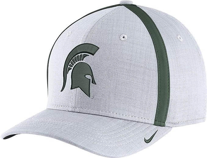Nike Hombres de Michigan State Spartans Blanco aerobill fútbol ...