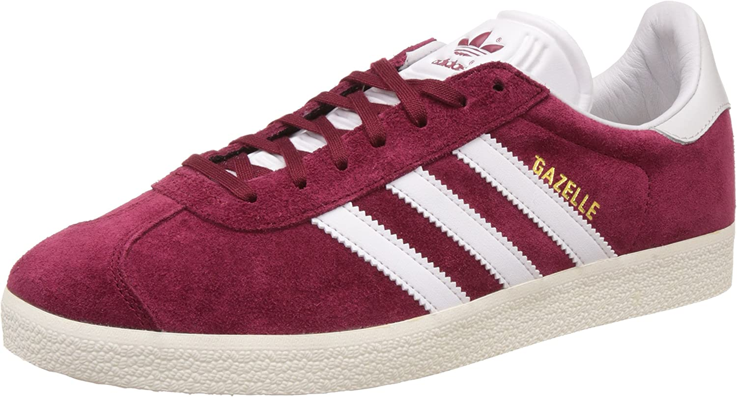 Chaussures adidas – Gazelle bordeaux/blanc/or taille: 39 1/3