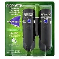 QuickMist Mouth Spray Duo Pack, Fresh Mint, 1 mg Nicorette