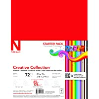 Neenah Creative Collection Classics Specialty Cardstock Starter Kit, 8.5 X 11 Inches...