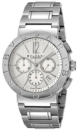 24fd4ee40d42 [ブルガリ]BVLGARI 腕時計 BB42WSSDCH ブルガリブルガリ ホワイト メンズ [並行輸入品]