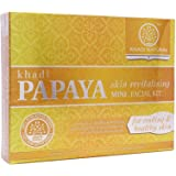 Khadi Natural Papaya Skin Revitalising Mini Facial Kit , 75 g