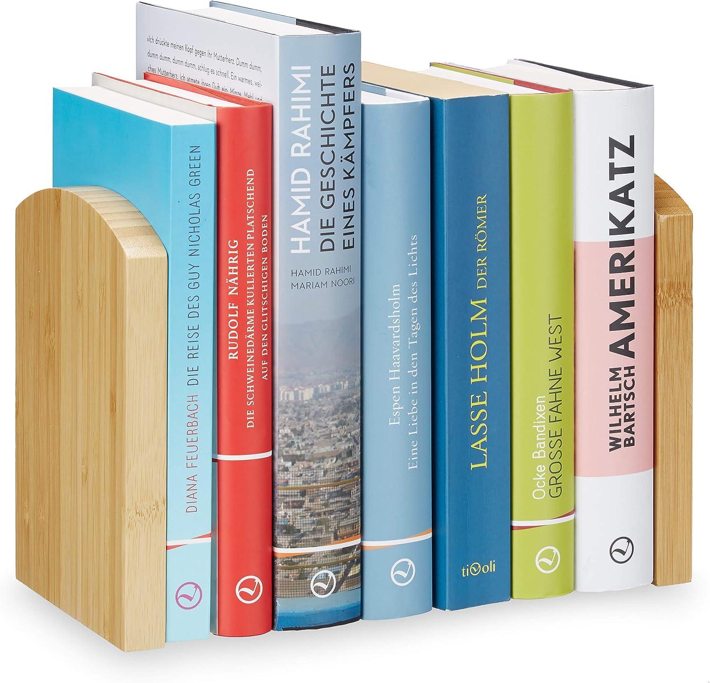 1 Stück Holz Japanischer Stil Natur Buchenholz Buchständer Bücherstütze Buch