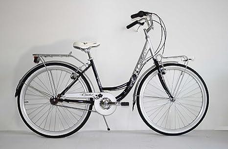 Nuova Bici Bicicletta Classica Donna 26 Trekking City Bike Senza Cambio Olanda