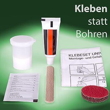 Golden Lutz® 2K Klebeset Universal – Zur Befestigung von Badezimmer ...