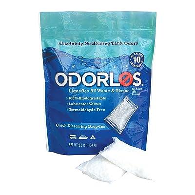Odorlos V77011 Holding Tank Treatment (4oz Packets, 10 per box),1 Pack: Automotive [5Bkhe1406322]