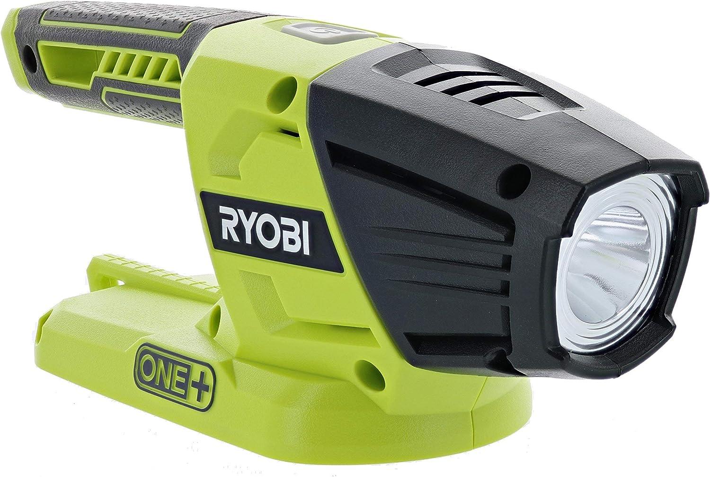 2 Pack Ryobi P705 One+ 18V Lithium Ion LED 130 Lumen Flashlight (Battery Not Included/Flashlight Only)