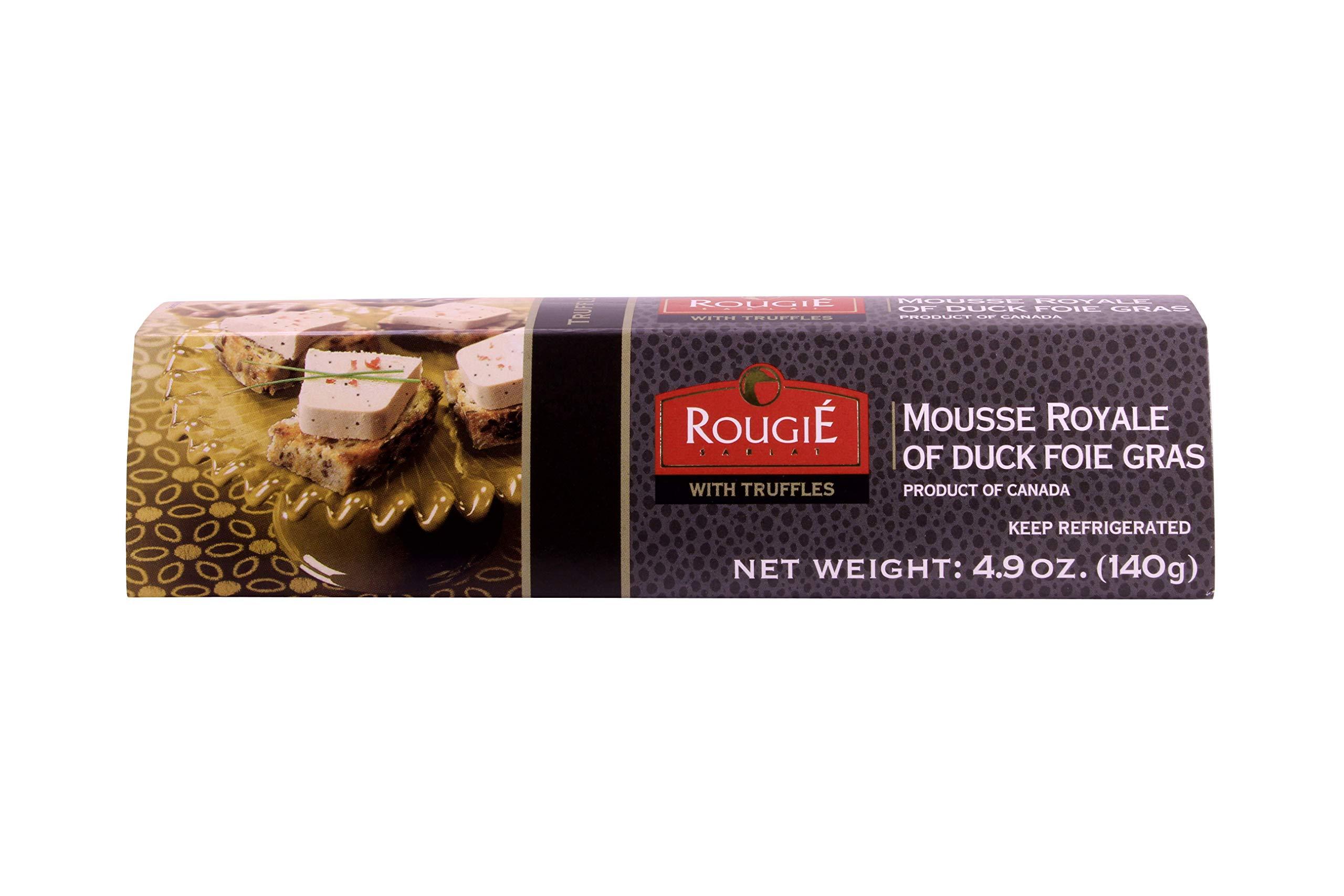 Mousse Royal of Duck Foie Gras w/ Truffles, 4.9 Ounce. Rougie