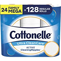24 Pack Cottonelle Ultra CleanCare Toilet Paper