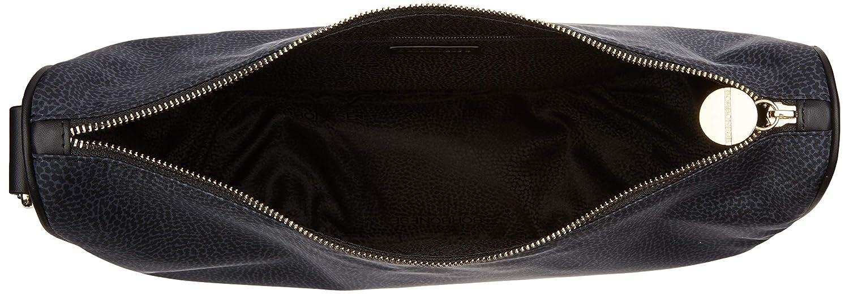 Borbonese Kvinnor Luna Middle Messenger Bag Black (Nero)