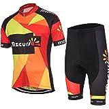 mzcurse Men's Bicycle Cycling Short Shirt Jersey Shorts Suit Kit Set