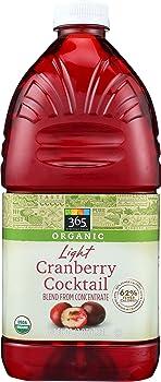 365 Organic Cranberry Juice