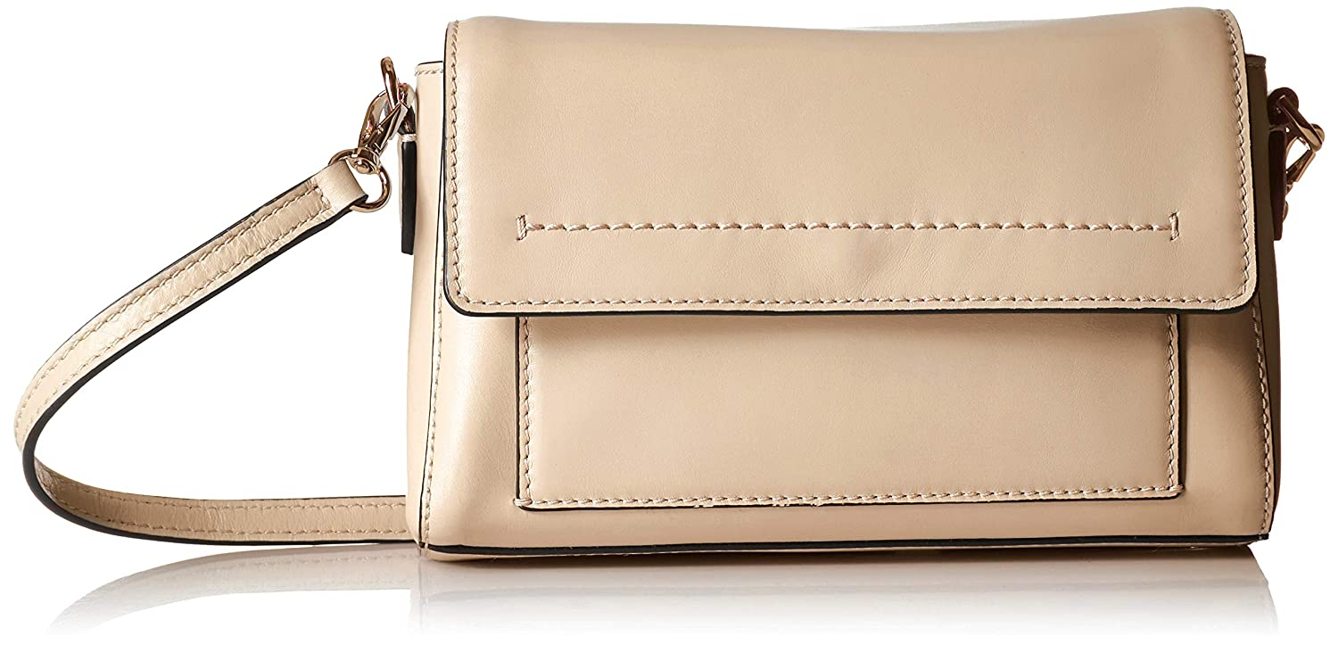 Brazilian Sand Cole Haan Kaylee Leather Congreenible Crossbody Clutch