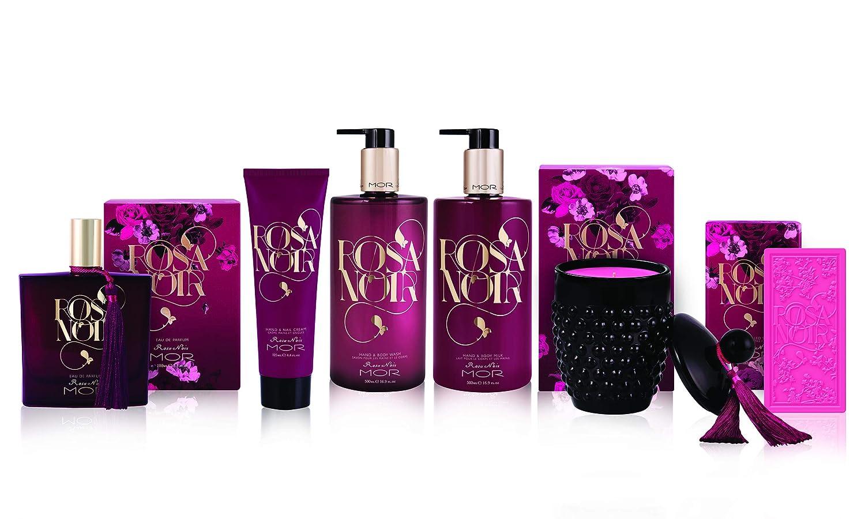 Mor Hand and Body Wash, Rosa Noir, 16.9 Fluid Ounce