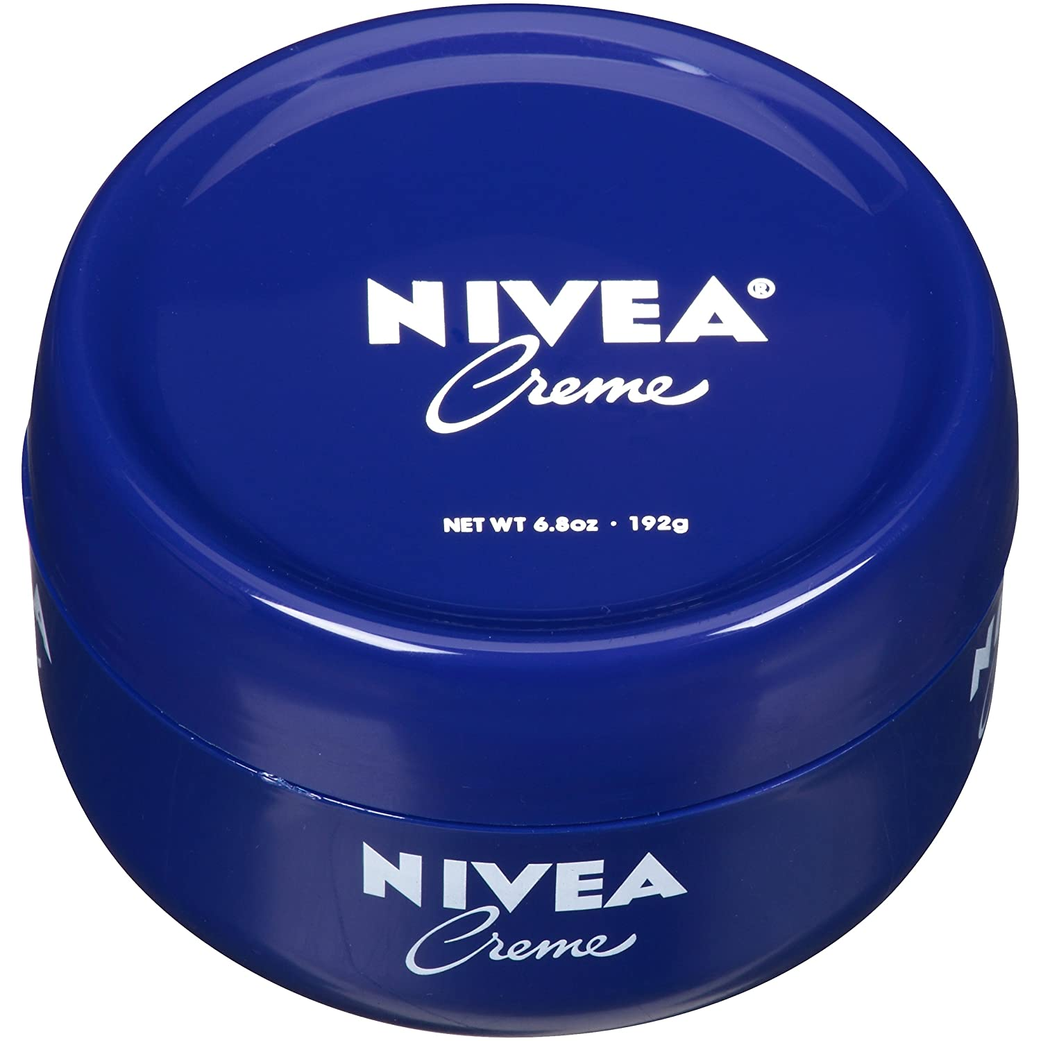 NIVEA Crème - Unisex All Purpose Moisturizing Cream for Body, Face & Hand Care - 6.8 oz. Jar (Pack of 3)