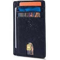 Slim Wallet for Men   RFID Blocking Minimalist Credit Card Holder