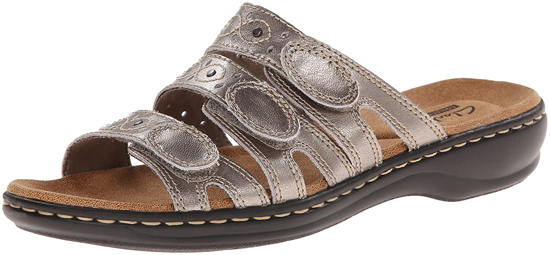 b6d279a25753 CLARKS Women s Leisa Cacti Slide Sandal