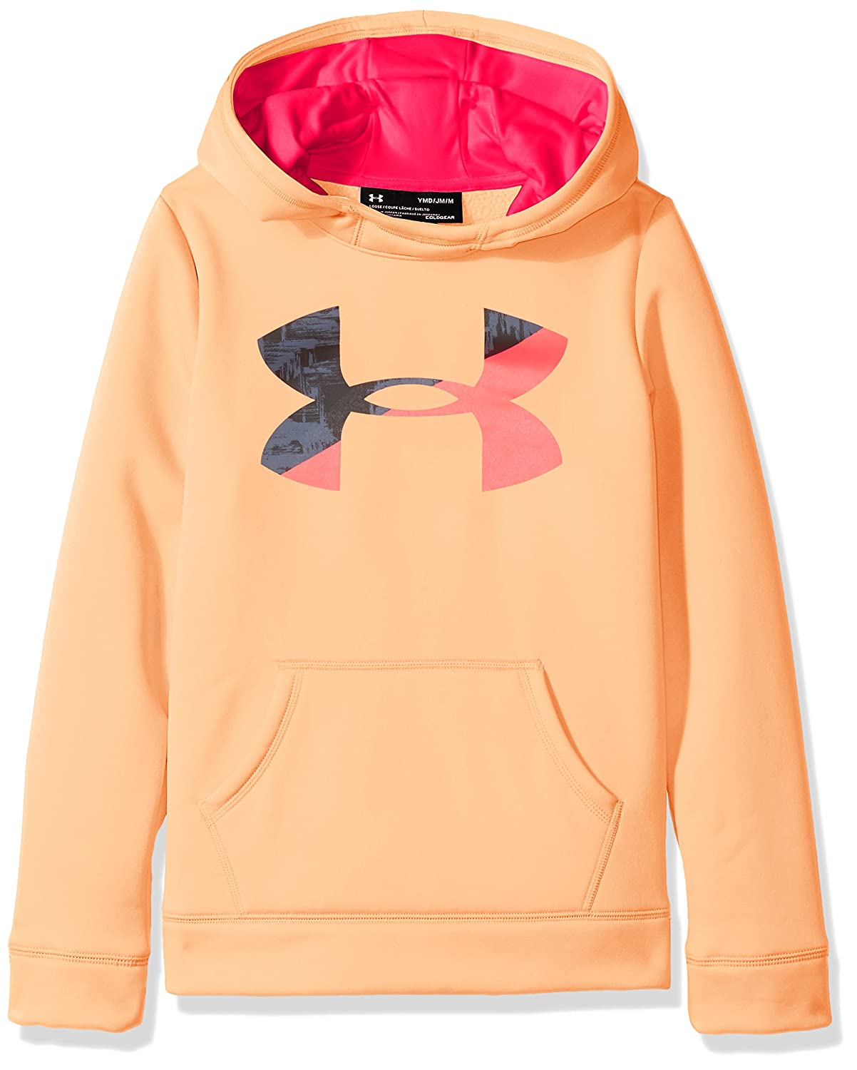 Under Armour Girls' Armour Fleece Big Logo Hoodie Under Armour Apparel 1298860