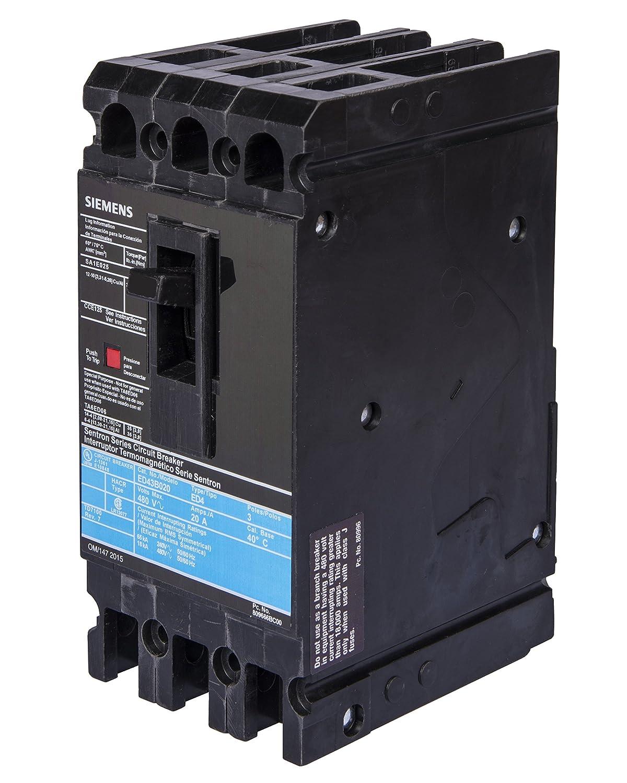 Siemens ED43B030 Circuit Breaker, Type ED4, 30 Amp, 3 Pole ...