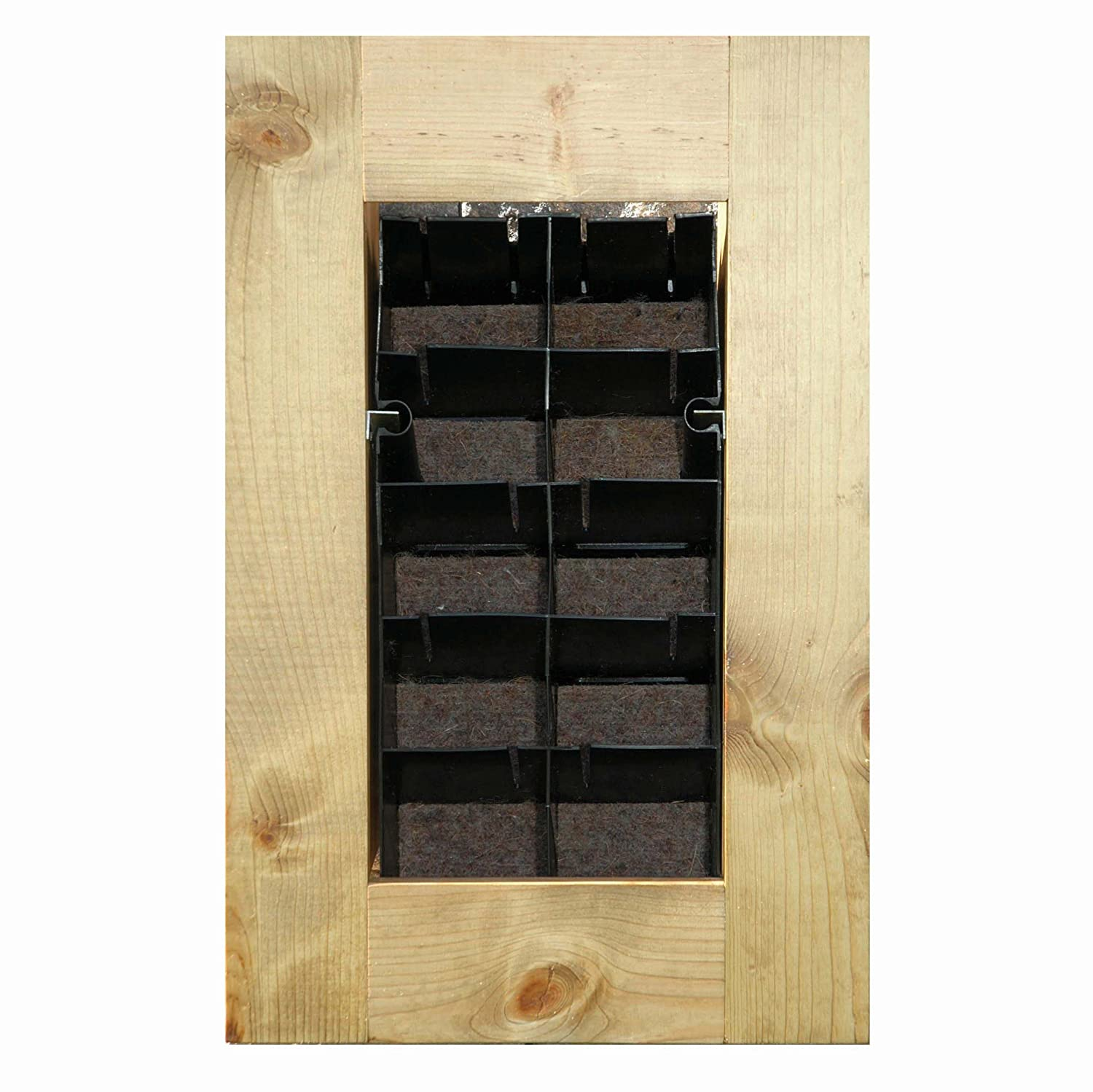 Amazon.com: BrightGreen BGWM8W Living Wall Planter Kit with Frame ...