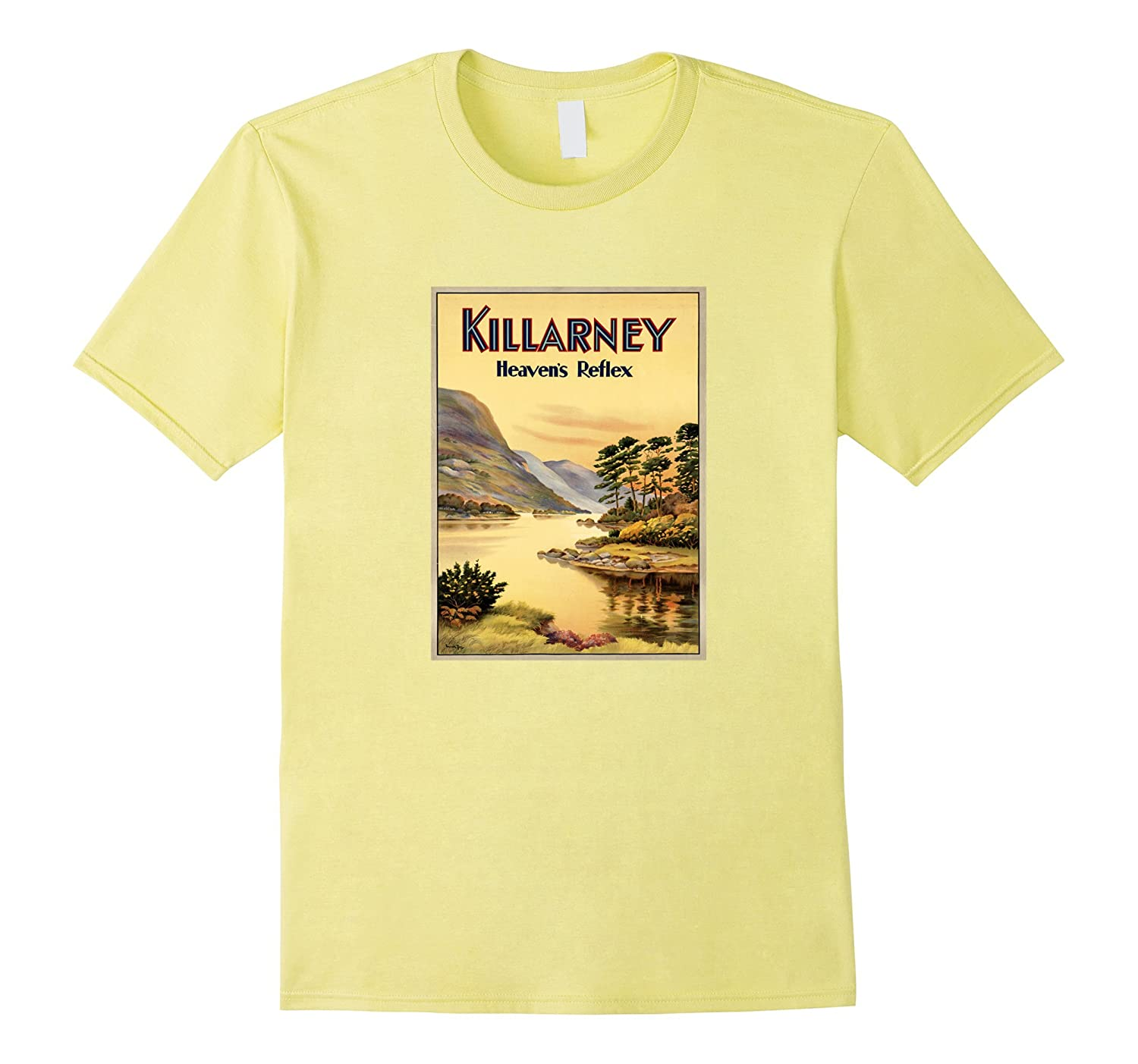Killarney County Kerry Ireland - Vintage Travel Poster-Vaci