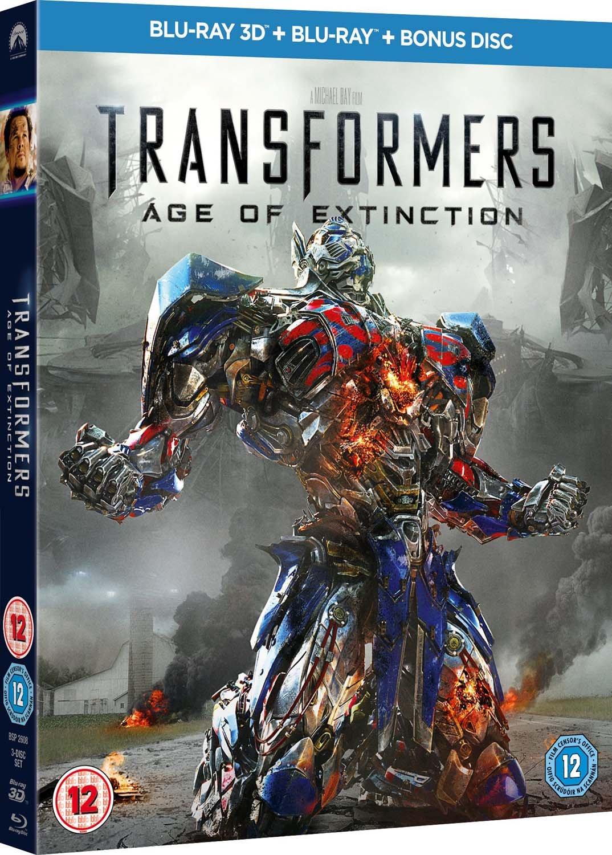 Transformers 4 Edizione: Regno Unito Reino Unido Blu-ray ...